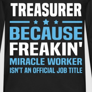 Treasurer T-Shirts - Men's Premium Long Sleeve T-Shirt
