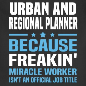 Urban and Regional Planner T-Shirts - Adjustable Apron