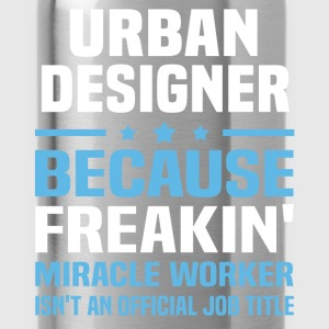 Urban Designer T-Shirts - Water Bottle