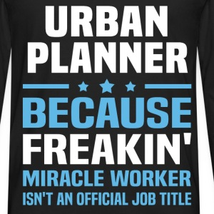 Urban Planner T-Shirts - Men's Premium Long Sleeve T-Shirt