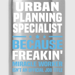 Urban Planning Specialist T-Shirts - Water Bottle