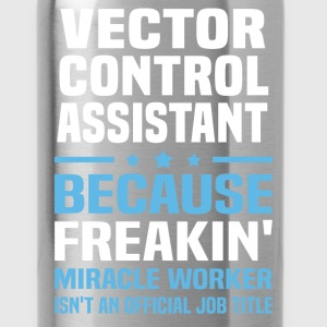 Vector Control Assistant T-Shirts - Water Bottle