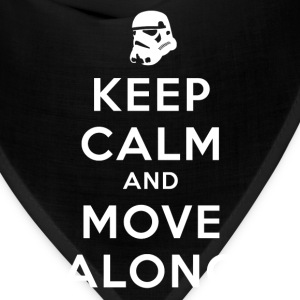 KEEP CALM AND MOVE ALONG T-Shirts - Bandana
