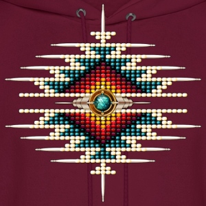Southwest Native Sunburst 9 - Men's Hoodie