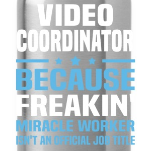 Video Coordinator T-Shirts - Water Bottle