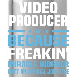 Video Producer T-Shirts - Water Bottle