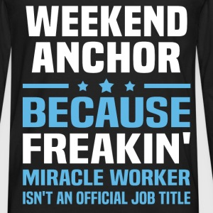 Weekend Anchor T-Shirts - Men's Premium Long Sleeve T-Shirt