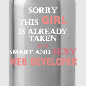 Web Developer - Sorry this girl is already taken b - Water Bottle