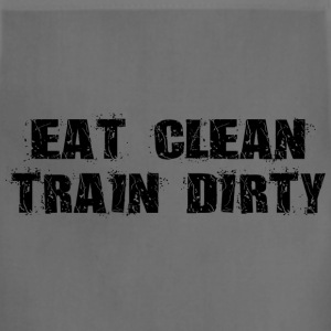 Eat Clean Train Dirty T-Shirts - Adjustable Apron