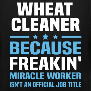 Wheat Cleaner T-Shirts - Men's Premium Tank