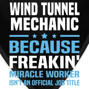Wind Tunnel Mechanic T-Shirts - Bandana