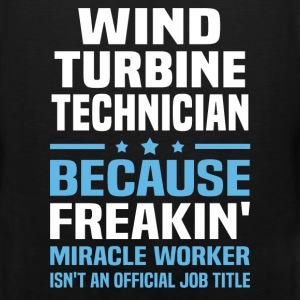 Wind Turbine Technician T-Shirts - Men's Premium Tank
