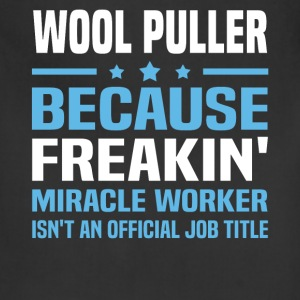 Wool Puller T-Shirts - Adjustable Apron