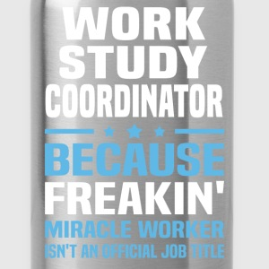 Work Study Coordinator T-Shirts - Water Bottle