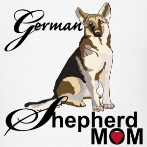 German Shepherd Mom - Men's T-Shirt