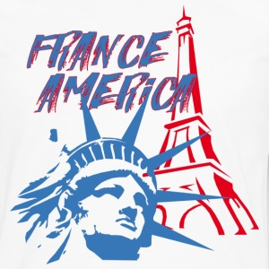 FRANCE AMERICA - Men's Premium Long Sleeve T-Shirt