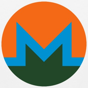 Monero Logo T-Shirts - Men's Premium Tank