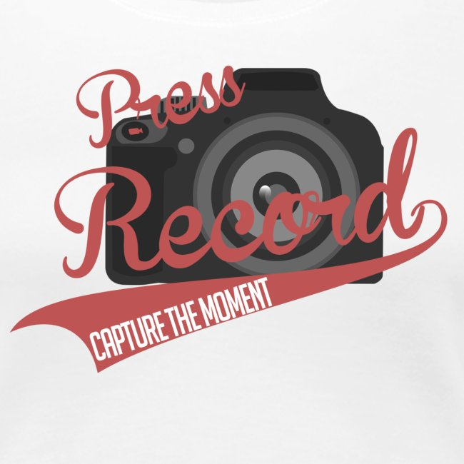 Press Record Baseball T