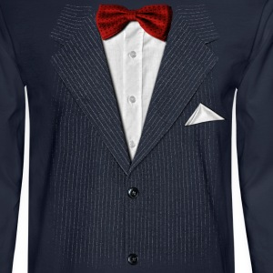 bow tie - Men's Long Sleeve T-Shirt