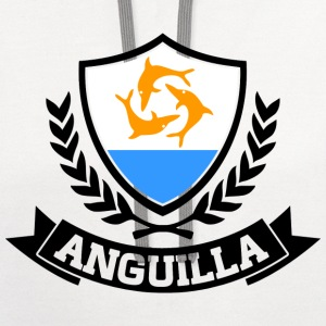 Anguilla Caribbean T-Shirts - Contrast Hoodie