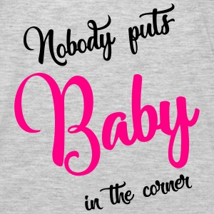 nobody puts baby in the corner Tanks - Men's Premium Long Sleeve T-Shirt