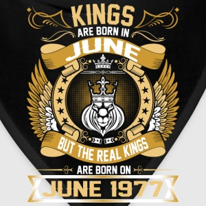 The Real Kings Are Born On June 1977 T-Shirts - Bandana