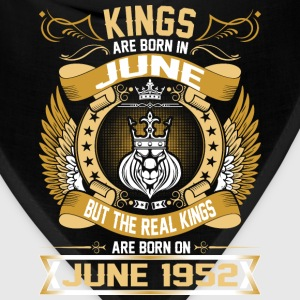 The Real Kings Are Born On June 1952 T-Shirts - Bandana