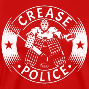 Crease Police (Hockey Goalie) Sportswear - Men's Premium T-Shirt