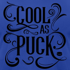 Cool As Puck (Hockey) Hoodies - Men's T-Shirt by American Apparel