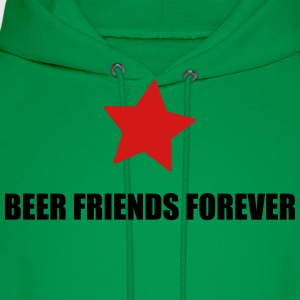 BFF beer friends forever T-Shirts - Men's Hoodie
