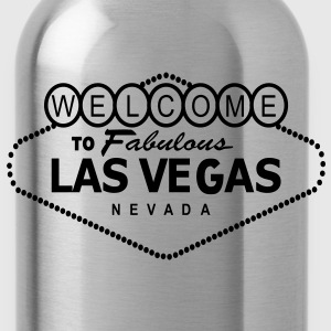 Retro Las Vegas - Water Bottle
