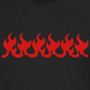 flames T-Shirts - Men's Premium Long Sleeve T-Shirt