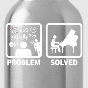 Piano Problem Solved - Water Bottle