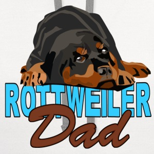 I am A Rottweiler Dad - Contrast Hoodie