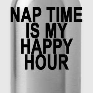 nap_time_is_my_happy_hour_ - Water Bottle