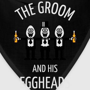 The Groom And His Eggheads (Stag Party / 3C / NEG) T-Shirts - Bandana