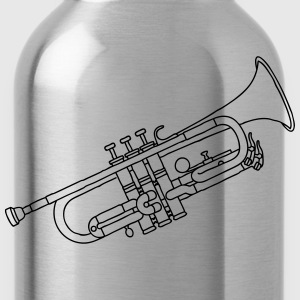Trumpet brass instrument T-Shirts - Water Bottle