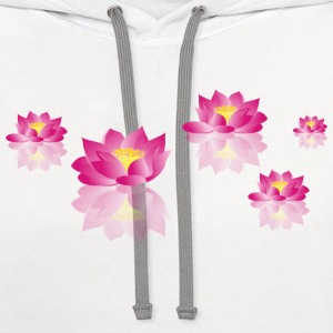 Flowers for you - Contrast Hoodie