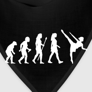 Evolution Of Ballet Ballerina T Shirt - Bandana