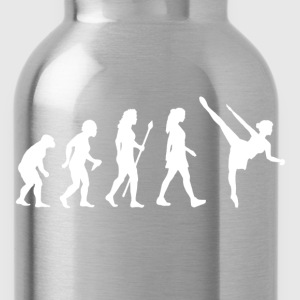 Evolution Of Ballet Ballerina T Shirt - Water Bottle