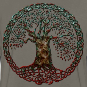 TREE OF LIFE - blood moon - Men's Premium Long Sleeve T-Shirt