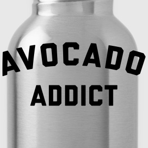 Avocado Addict Funny Quote T-Shirts - Water Bottle