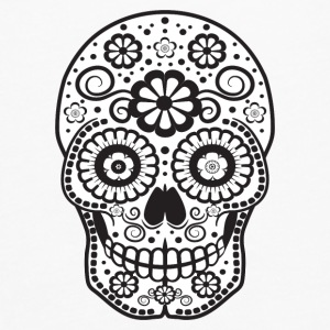 Smiling Sugar Skull Baby & Toddler Shirts - Men's Premium Long Sleeve T-Shirt