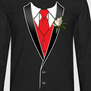 Prom Tuxedo Shirt - Men's Premium Long Sleeve T-Shirt
