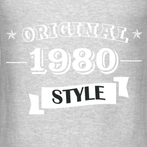 Original 1980 Style - Men's T-Shirt