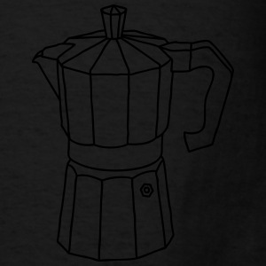 Espresso coffee maker Aprons - Men's T-Shirt