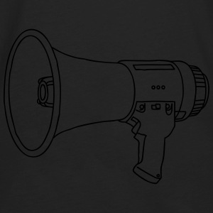 Megaphone bullhorn Hoodies - Men's Premium Long Sleeve T-Shirt