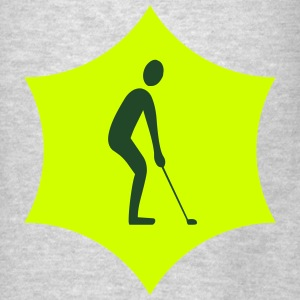 Golfer logo - Men's T-Shirt
