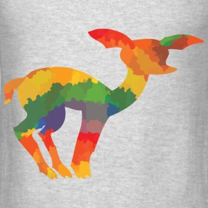 Coloured deer - Men's T-Shirt