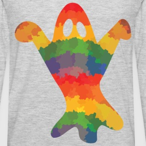 Colored ghost - Men's Premium Long Sleeve T-Shirt